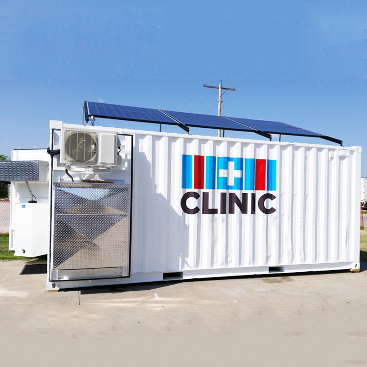 medical prefab container clinic